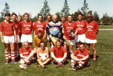 M.S.V.'71 team tgv afscheid Gerard Wolfs en Jacob Huizing