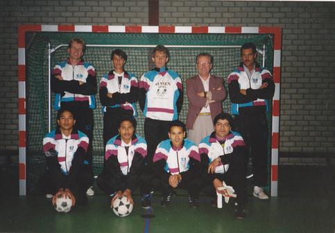 M.S.V.'71 - zaalteam 1992