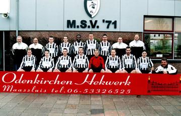 M.S.V.'71-5 seizoen 2003 2004