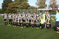 M.S.V.'71-1 seizoen 2018 2019 met jeugdteam...