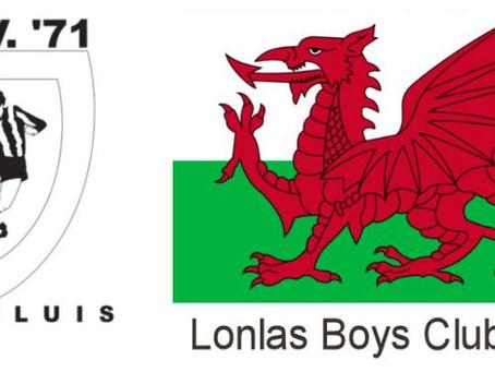 Uitwisseling MSV jeugd met Lonlas Boys Club uit Wales