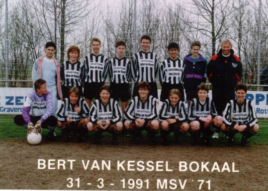 M.S.V.'71-B1 Seizoen 1990-1991