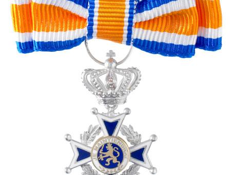 Fimpje over Koninklijke onderscheidingen in Maassluis