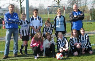 M.S.V.'71-Meisjes Seizoen 2008-2009