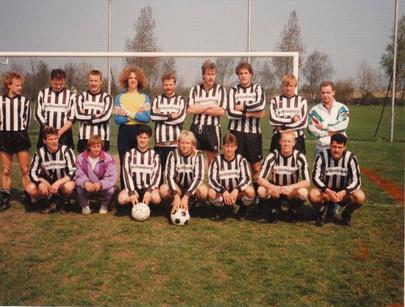 M.S.V.'71-3 Seizoen 1990-1991 Kampioen