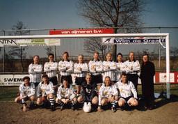 M.S.V.'71 Oud eerste elftal uit jaren 70