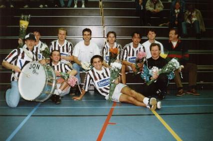 M.S.V.'7-3 Zaal Seizoen 1996-1997 Kampioen