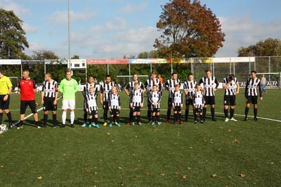 M.S.V.'71-1 seizoen 2017 2018 met jeugdteam