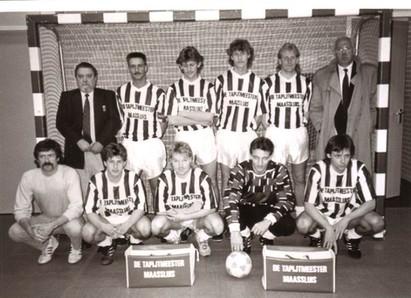 M.S.V.'71-1 Zaal Begin jaren 90