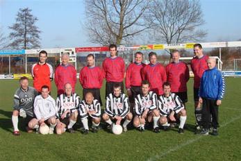 M.S.V.'71 Teamfoto Nieuwjaarsreceptie 2008