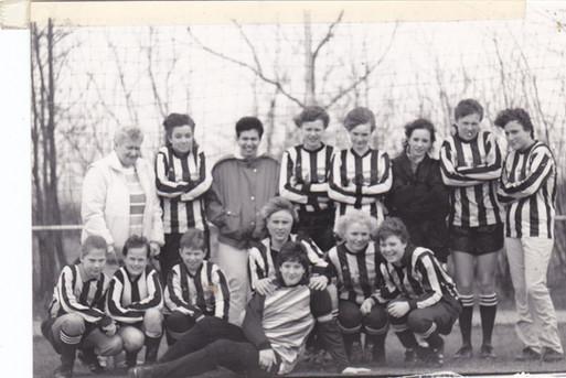 M.S.V.'71 meisjes eind jaren 80