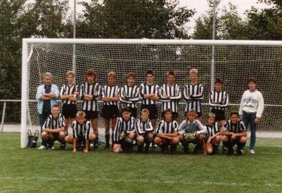 M.S.V.'71-B1 Seizoen 1988-1989.