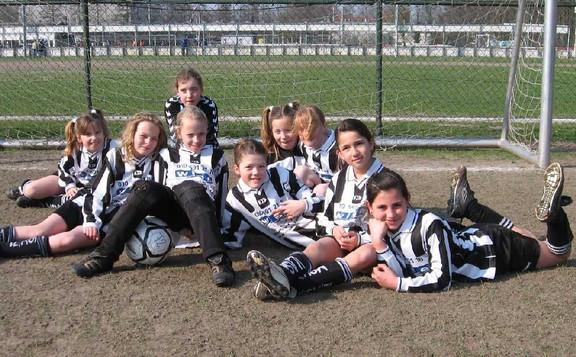 M.S.V.'71-Meisjes Seizoen 2006-2007