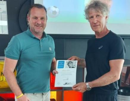 Paul van Loenen blijft zich ontwikkelen als trainer
