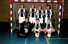 M.S.V.'71 zaalteam seizoen 2002 2003