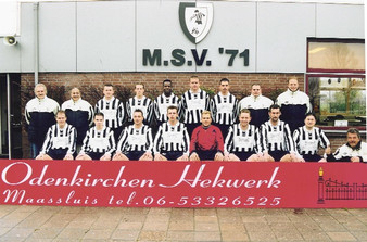 M.S.V.'71-5 Seizoen 2003-2004