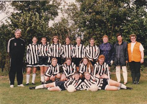 M.S.V.'71 Meisjes Seizoen 1996-1997