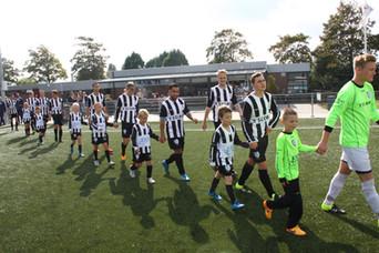 M.S.V.'71-1 seizoen 2016 2017 met jeugdteam.