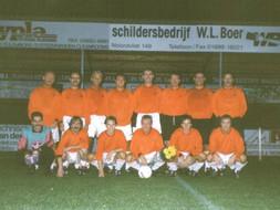 M.S.V.'71 team tgv afscheid Ben Ducaneaux 1994