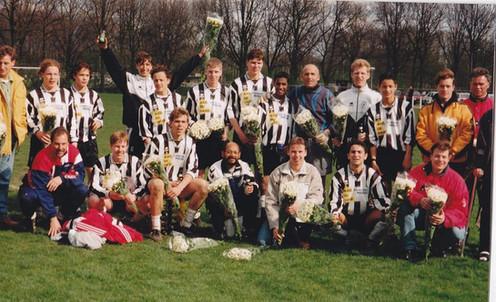 M.S.V.'71-1 Seizoen 1997-1998 Kampioen