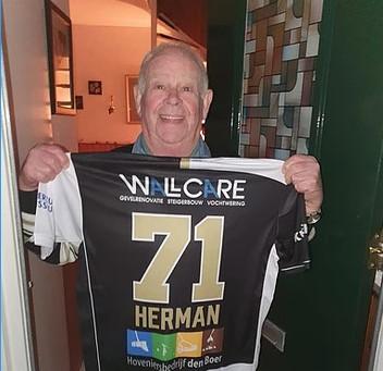 Herman bedankt!