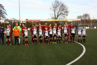M.S.V.'71-1 seizoen 2016 2017 met jeugdteam..