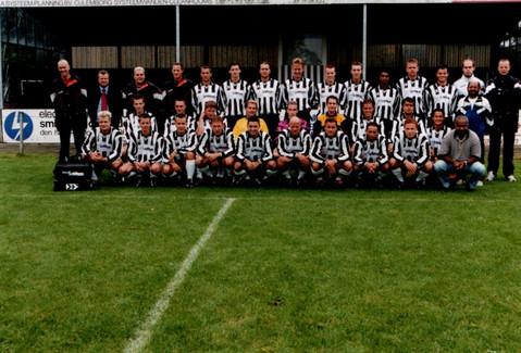 M.S.V.'71 selectie seizoen 2001 2002
