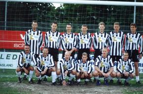 M.S.V.'71 team1 bij Afscheid Arthur Bierhuize 1990