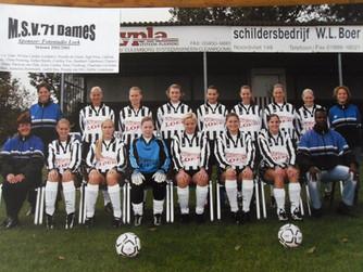 M.S.V.'71-Dames Seizoen 2002-2003