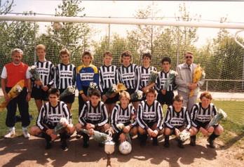 M.S.V.'71-B1 Seizoen 1988-1989 Kampioen