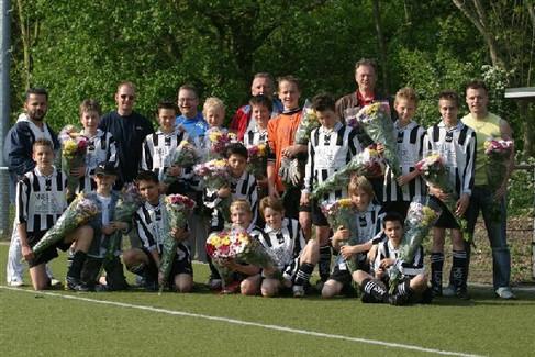 M.S.V.'71-D1 Seizoen 2006-2007 Kampioen