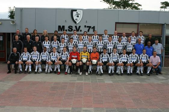 M.S.V.'71 Selectie Seizoen 2005-2006