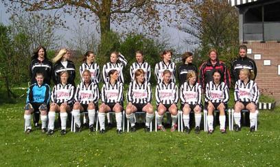 M.S.V.'71-Dames Seizoen 2004-2005