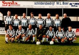M.S.V.'71 seniorenelftal eind jaren 90
