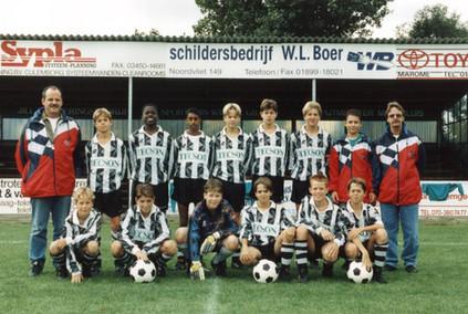 M.S.V.'71-B1  Seizoen 1997-1998