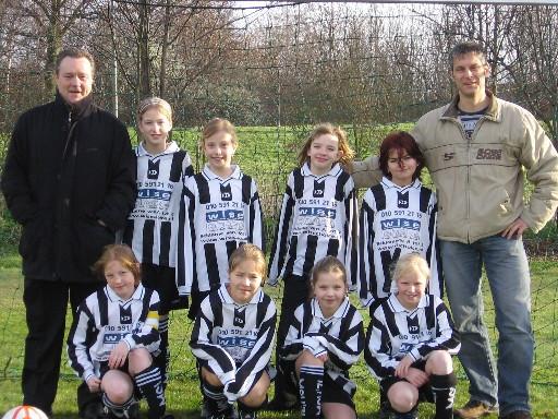 M.S.V.'71-Meisjes Seizoen 2007-2008