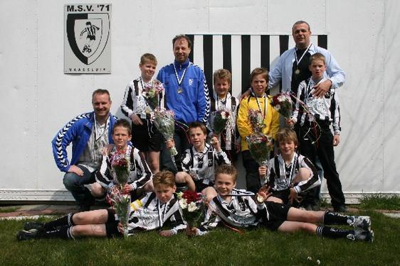 M.S.V.'71-E1 Seizoen 2007-2008 Kampioen