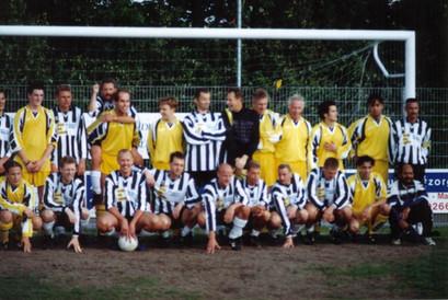 M.S.V.'71 teams bij Afscheid Arthur Bierhuize 1990
