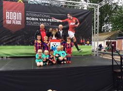 Kabouters seizoen 2014 2015 van persie toernooi