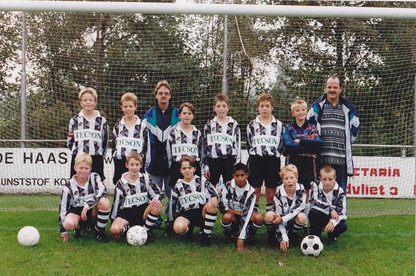 M.S.V.'71 - D1 seizoen 1994-1995