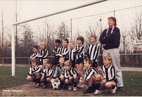M.S.V.'71 - E1 Kampioen 1986