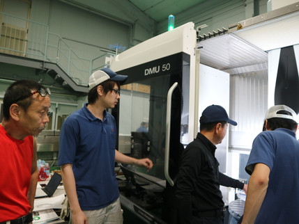 2018.06.20 DMU50 5軸マシニングセンタ導入