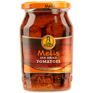 MLS1426 MELIS SUN DRIED TOMATOES 370ml. X 12CS