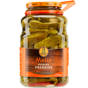 MLS874 MELIS PICKLED GHERKINS 2650ml X 3CS