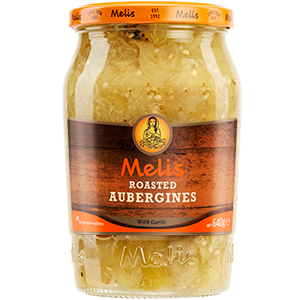 MLS82 MELIS ROASTED AUBERGINES 720ml X 12CS
