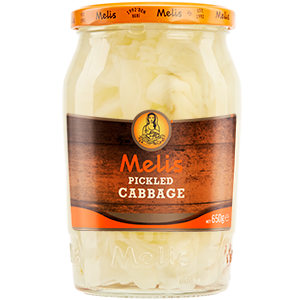 MLS1417 MELIS PICKLED CABBAGE 690G X 12CS