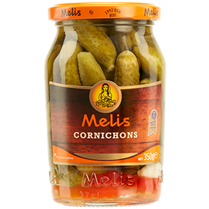 MLS1441 MELIS CORNICHONS 370ml X 12cs