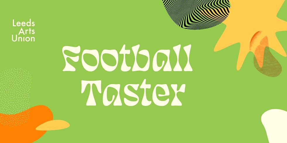 Freshers 21: Football Taster Session