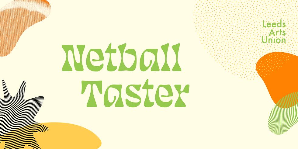 Freshers 21: Netball Taster Session