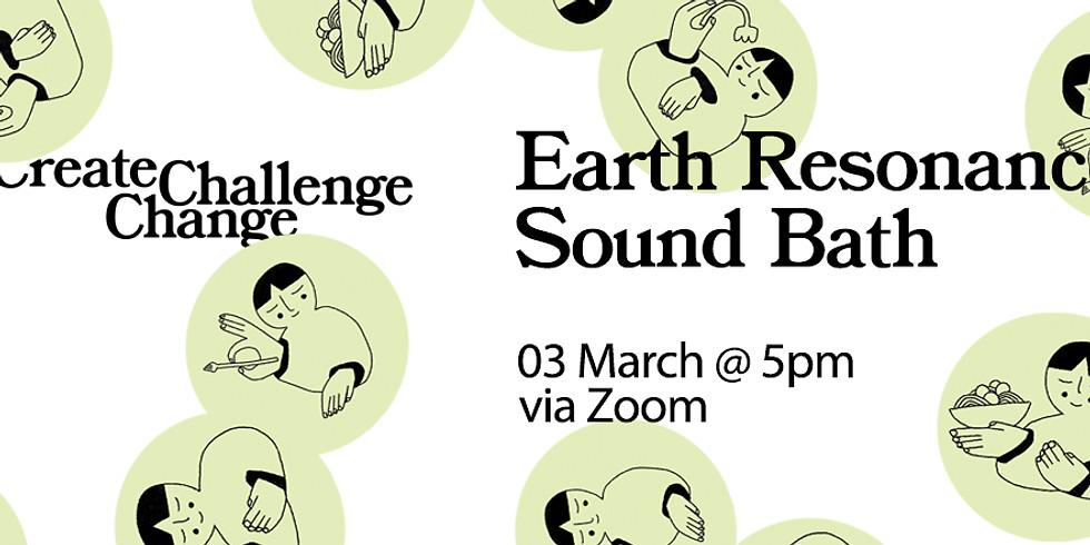 Earth Resonance Soundbath Workshop